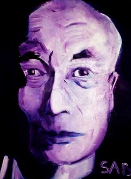 Dalai Lama by Adjabroux